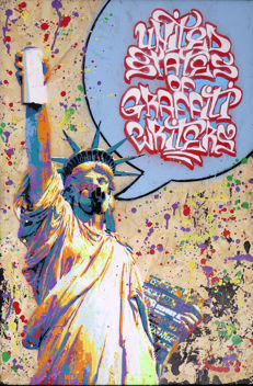Sand - United States of graffiti writers