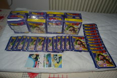 Panini - Dragon Ball, 4 boxes of 50 packs + 23 closed packs from late 80s.
