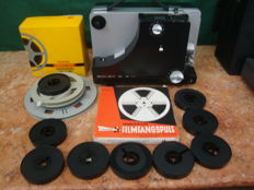 8 / Super 8 mm  Projector - Bolex 18-3 Duo ( SILENT ) with accessories