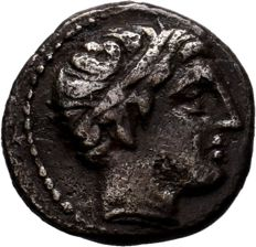 Greek Antiquity -  Kingdom of Macedon. Philip II AR Hemidrachm. Amphipolis, circa 323-318 BC.