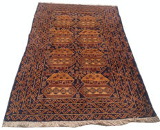 Amazing Afghan Hand Knotted Balouch Herati Area Rug 193 cm x 115 cm