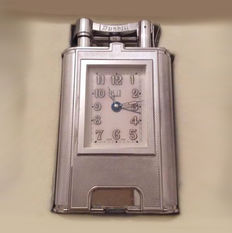 DUNHILL alarm table lighter signed numbered 57/200