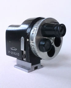 Universal Turret Viewfinder for, among others, Leica LTM Rangefinder cameras