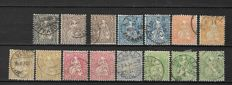 Switzerland 1862/1962 - Selection between Michel 21/760