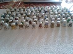 Collection of 101 timbles - Collection thimble 101 parts