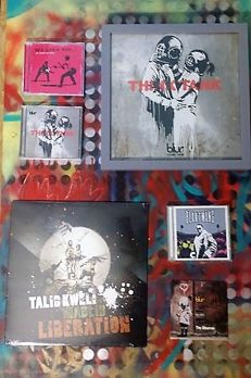 Banksy - Vinyl, CD & Store Display (x6)