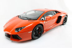 Pocher - Scale 1/8 - Lamborghini Aventador - Orange