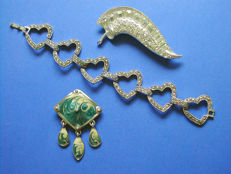 Lot of Vintage 'Art Nouveau' and 'Art Deco' Jewelry