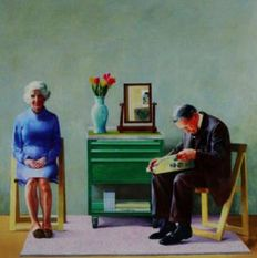 David Hockney - My Parents