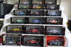 Bang / Onyx / Yat Ming - Scale 1/43 - Assorted 18 American race cars, including Indy Cars