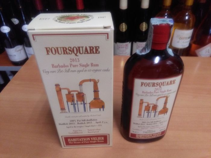 "Foursquare 2013 Habitation Velier - ""Barbados pure Single rum "" - 70cl"