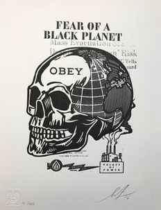 Shepard Fairey (OBEY) - Fear of a Black Planet