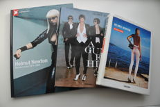 Lot with 3 books about Helmut Newton 2005 /2011