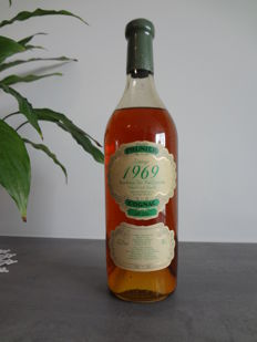Cognac Prunier 1969 Fins Bois, only 861 bottles.