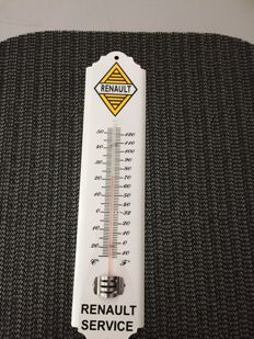 Renault thermometer in sheet metal