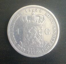 The Netherlands – 1 guilder 1824 Utrecht, Willem I - silver