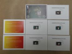 The Netherlands 2010/2016 – Children's stamps thank-you-cards, complete series