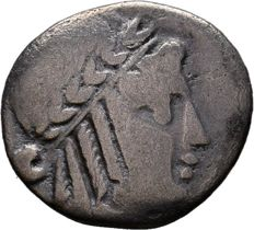 Greek Antiquity -  LYCIAN LEAGUE. Circa 48-42 BC. AR Drachm (16mm, 1.72 g, )