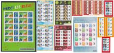 France 2000/2006 - Personalised blocks with gum & adhesive