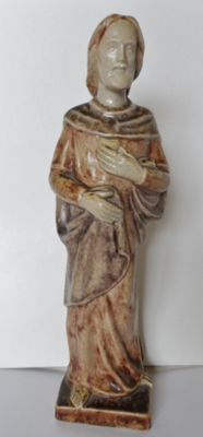 Terraco Draak - Christ sculpture