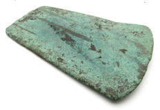 Early Bronze Age Bronze Flat Axehead - 107 mm / 164.7 grams