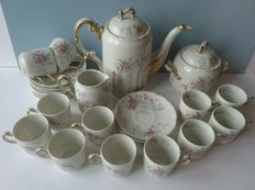 William Guerin & Co Limoges hand painted porcelain tableware