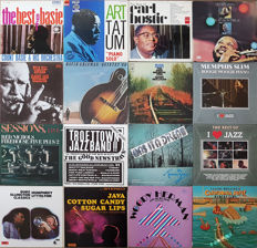 16 Great Jazz Albums incl. some rare ones: Basie, Bostic, Ellington, Slim, Brubeck, Mulligan, Art Tatum and many more. Bonus: DVD Big Band Fascination