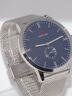 Baltic Time mens dress watch blue minimalist watch mint unworn