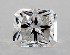 2.01 Carat Cornered Rectangular Modified Brilliant Cut - F Colour-VVS2 Clarity - GIA Certificate (Unsealed) - HPHT