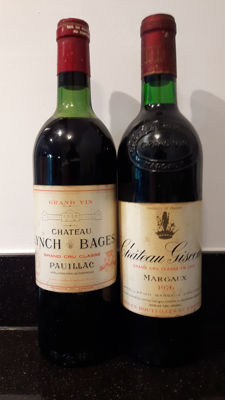 1977 Chateau Lynch Bages, 5th growth x 1 & 1976 Chateau Giscours, 3rd growth - 2 Bottles (75cl) total