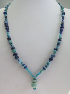 Necklace of Roman glass beads - 53 cm