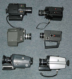 Lot of 6 different film cameras