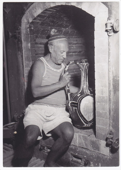 J Y Manciet - Pablo Picasso - French Riviera - 1949