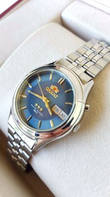 Orient - 3-Star 21JEWELS AUTOMATIC in good Condition - Herre - 1980-1989