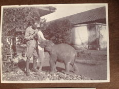 Indonesia; Collection of a Indies family album, 31 loose photos and 20 picture postcards - From the 1920s and 1930s