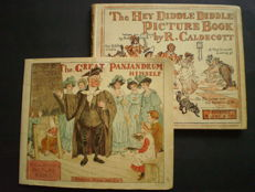 Randolph Caldecott - The hey diddle diddle picture book & The Great Panjandrum himself - no date (c. 1900)