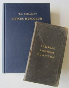 Lot with two books on mosses and plants - 1895/1969