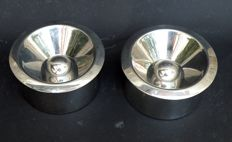 Marianne Brandt for Alessi edition - Lot of 2 (two) ashtrays, reference no. 90010/I