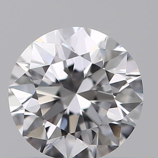 Round Brilliant Diamond 0.50 Carat , D IF,   Cert: GIA  #TW2108 -original image