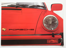 1977 Porsche brochure for the 911 2.7 / 3.0 Carrera / Turbo & 924