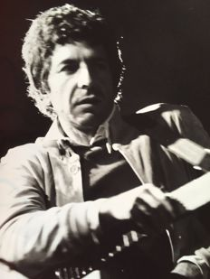 Unknown/Keystone - Leonard Cohen - Paris - 1972
