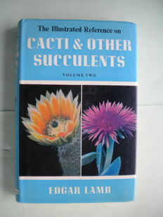 Edgar & Brian Lamb - The Illustrated Reference on Cacti & other Succulents - 5 volumes - 1955/1978