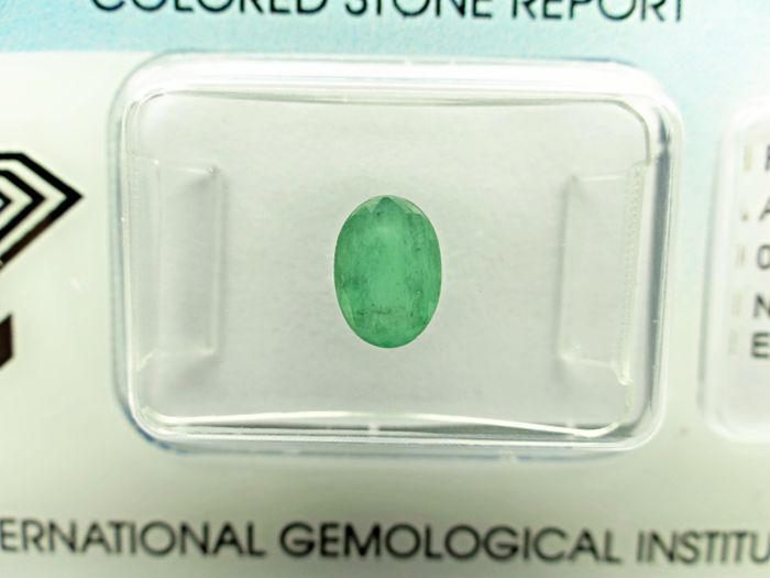 Emerald - 0.78 ct - no reserve price