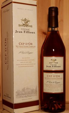 "Jean Fillioux ""Cep D'OR"" Tres Vieille Grande Champagne Cognac incl. original box, 70cl, 40%vol."