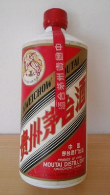 Moutai - 53%, early 1980s, from China, very special, rare