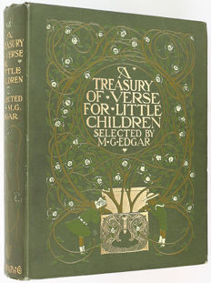 Willy Pogany (illus.) - A Treasury of Verse for Little Children. Selected by M.G. Edgar - 1908