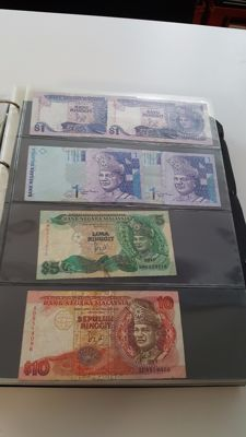 World - Asia 1 - Collection of over 200 banknotes in album