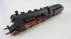 Liliput H0 - 18 02 - Steam locomotive BR 18 with tender of the DB