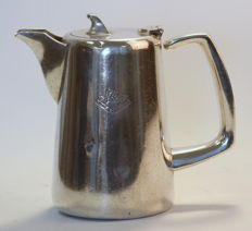 "Mappin & Webb - Antique silver plate tea pot ""Blue Star Line"" edition, Circa.1930's"