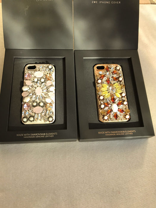 iPhone 5 covers made with Swarovski elements